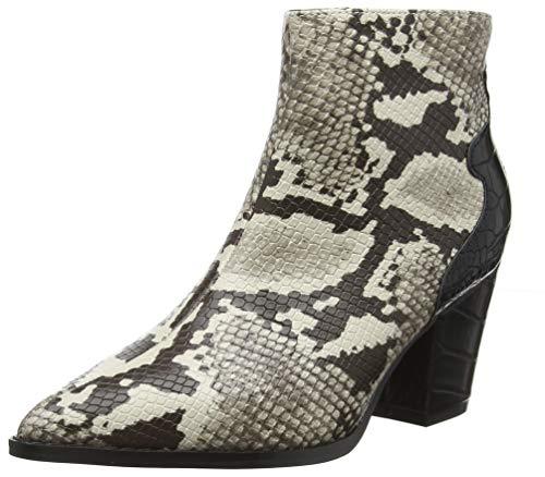 Lost Ink Damen Allie Western Ankle Boot Stiefeletten, Mehrfarbig (Snake 0093), 38 EU Snake Boots