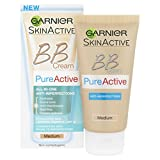 Pure Active BB Cream by Garnier Combination Skin Medium SPF15 50ml