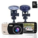Dash Cam, Volador Autokamera Dash 1080P FHD Auto Videorecorder 170 ° Weitwinkel mit 4...