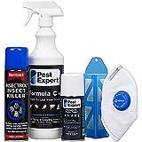 Kit 1 anti-mites des aliments (cuisine standard) de Pest Expert. Produit de qualité professionnelle.