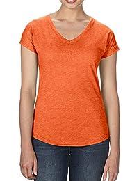 Anvil - T-shirt - Femme orange Heather Orange L