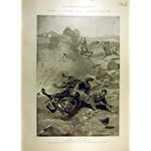 La Guerre de Boer de Ladysmith de 1900 Sièges Commande des Croquis Afrique