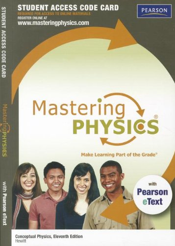 Physik, Mastering Pearson (Conceptual Physics MasteringPhysics Printed Access Code Card: With Pearson Etext (Mastering Physics (Access Codes)))