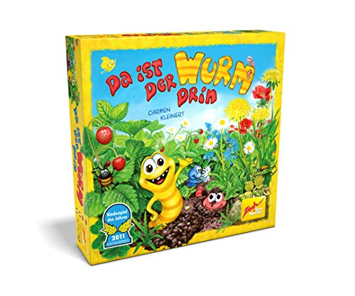 Zoch 601132100 601132100-Da ist der Wurm drin, Kinderspiel des Jahres 2011