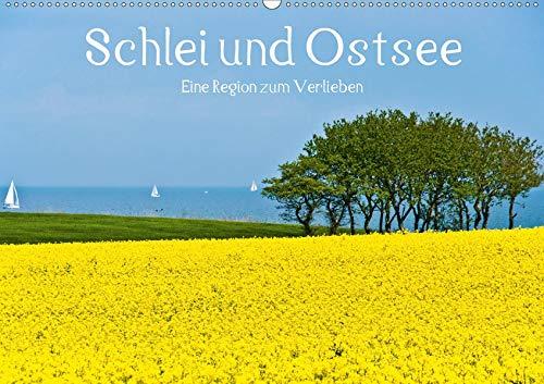 Schlei und Ostsee - Eine Region zum Verlieben (Wandkalender 2021 DIN A2 quer): Schlei und Ostsee: Die beliebte Urlaubsregion in Angeln und Schwansen (Monatskalender, 14 Seiten ) (CALVENDO Natur)