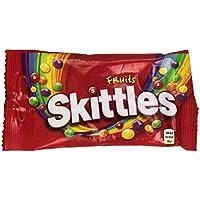 Skittles Fruits Caramelos Masticables con una Crujiente Capa de Azúcar - 38 g