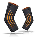 Upfist Elbow Brace Compression Sleeve Elbow Support for Weightlifting- Joint Pain, Tendonitis, Arthritis