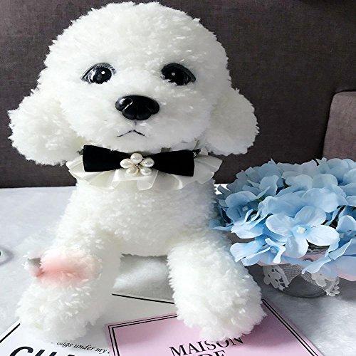 LVRXJP12 Haustier Kragen handgemachte Spitze Speichel Handtuch Schal Halskette geeignet für Haustiere unter 10 kg, XS- super small