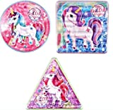 Henbrandt 6 x Unicorn Maze Puzzles - Party Bags fillers