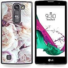 Stuss Case / Funda Carcasa protectora - Pink rosas blancas Primavera Naturaleza - LG G4c Curve H522Y ( G4 MINI , NOT FOR LG G4 )