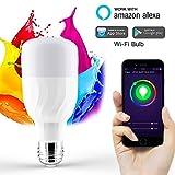 Wifi Smart E27 Rgb Lampen Glühbirnen Birne Lampe Mehrfarbig Alexa