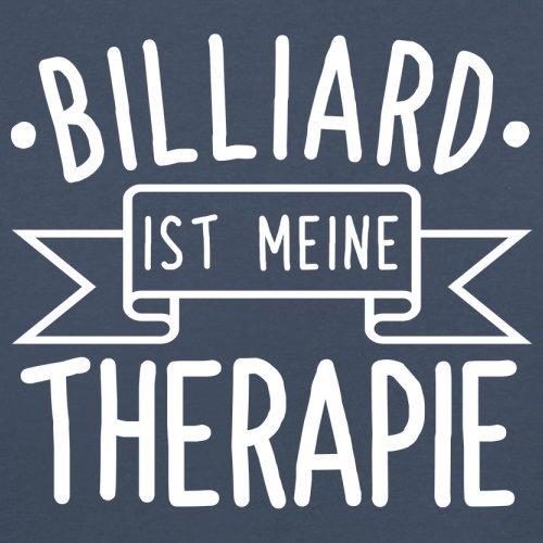 Billiard ist meine Therapie - Herren T-Shirt - 13 Farben Navy ...