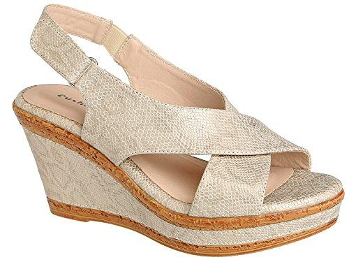Cushion Walk - Scarpe con cinturino alla caviglia donna Gold