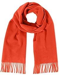 GANT Damen Schal Solid Lambswool Scarf Orange (Fiesta Orange), One size