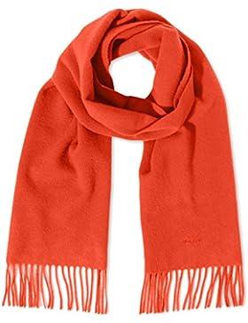GANT Damen Schal Solid Lambswool Scarf, Orange (Fiesta Orange), One size