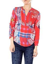 it Amazon Bluse Camicie Top T Shirt E Desigual 4qSWn8vq