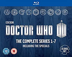 Doctor Who: The Complete Box Set - Series 1-7 [Blu-ray]