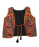 #4: women's, girls embroidery Jacket/shrug/Kutch work koti. Traditional jacket. (Black color)