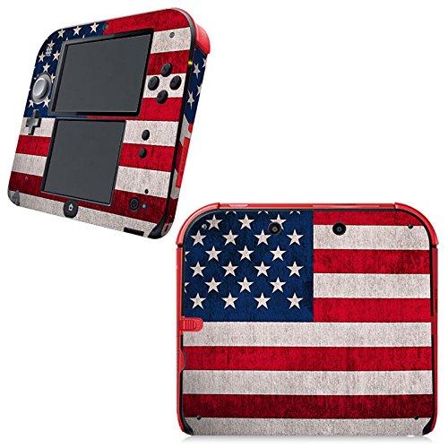 er für Nintendo 2DS Konsole - Flagge USA ()