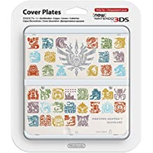 Nintendo - Cubierta Monster Hunter 4, Color Blanco (New Nintendo 3Ds)