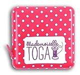 Mademoiselle Toga mero202Maßband Kabeltrommel Kunststoff Rosa 150x 1x 1,5cm