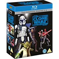 Star Wars: The Clone Wars - The Complete Seasons 1-4
