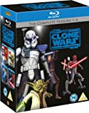 Star Wars: The Clone Wars - The Complete Seasons 1-4 [Blu-ray] [2012] [Region Free]