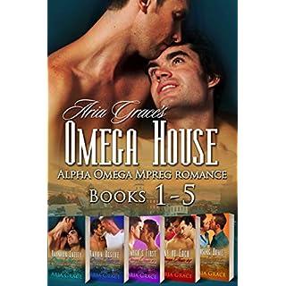 Omega House Boxset Books 1-5: Alpha Omega Mpreg Romance