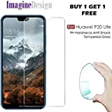 Original Tempered Glass For P20 Lite - WOW Imagine (Buy 1 Get 1 Free) Unbreakable Nano Film Glass [ Better Than Tempered Glass ] Screen Protector For Huawei P20 Lite