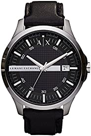 Armani Exchange Gents Wrist Watch, Black AX2101