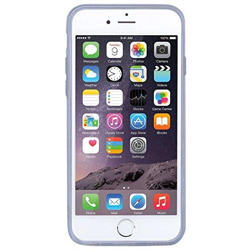 "WE LOVE CASE iPhone 6 / 6s Hülle Glitzern Transparent Liebe iPhone 6 / 6s 4,7"" Hülle Licht Rosa Schutzhülle Handyhülle Weich Silikon Handytasche Ultra Dünn Flexibel Cover Case Etui Soft TPU Handy Tasc blue"
