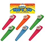 Best Kazoos - 12 Kazoos (4 Assorted Colours) Review