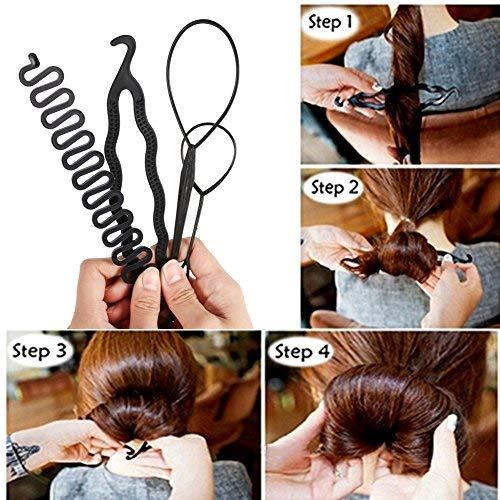 Zoom IMG-2 capelli chignon design styling strumenti