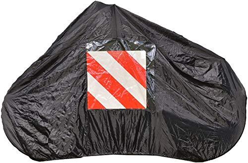 P4B Fahrradschutzhülle für bis zu 2 Fahrräder | für Heckträger | 145 x 74 x 123 cm | schwarz