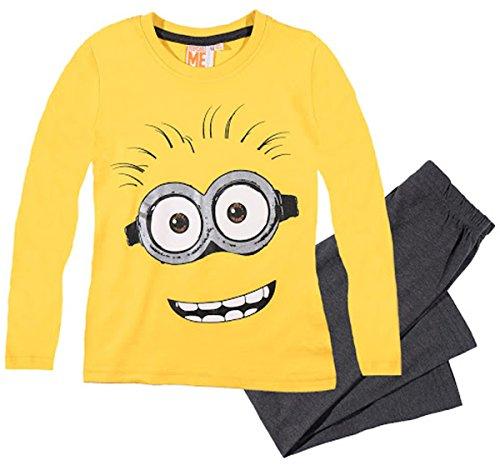MINIONS - Pijama dos piezas - para niño amarillo 8 Años