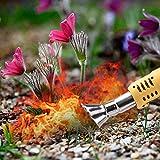 presentimer WATERFAIL Bruciatore per Erbaccia Elettrico, Diserbo Termico, Diserbante, Ecologico, per Giardino, Patio, Strada Privata - Giallo Premium