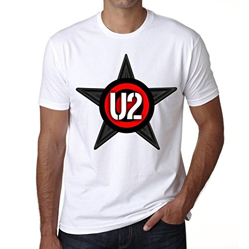 U2 Group Tour Herren T-shirt - Weiß, XXXL, t shirt herren,Geschenk