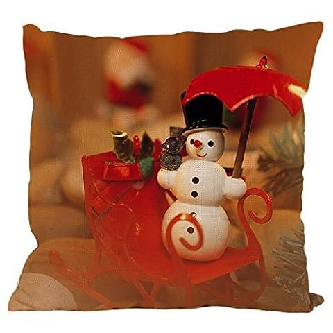 luniwei Kopfkissen Schutzhülle Christmas Home Decor Bett Sofa Kissenhülle (ohne Einsatz)