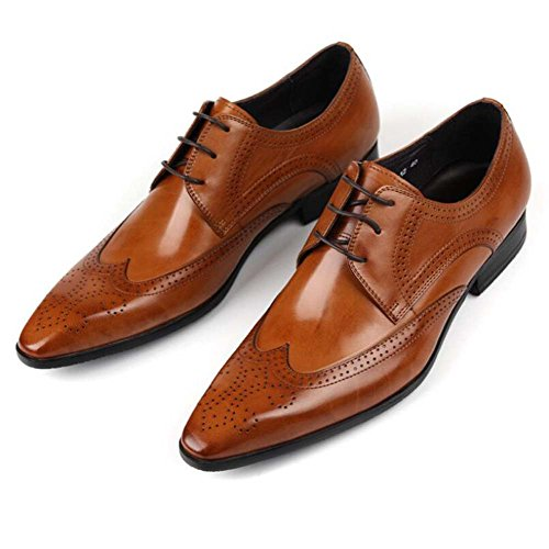 GLSHI Chaussures de Travail pour Hommes Tip Respirant Chaussures à Lacets Fashion Apparel Chaussures Nouveau
