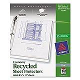 Avery 75539Letter Polypropylene (PP) 100pc (S) Sheet Protector–Klarsichthülle (Letter, Polypropylene (PP), 100PC (S))
