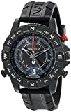 Nautica Men's NAD21001G NSR 103 Tide Temp Compass Watch with Black B