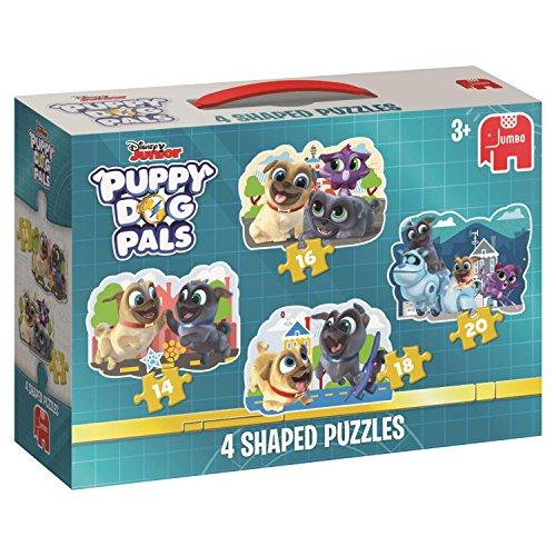 Disney 196294in 1geformte-Puppy Hund Pals Puzzle, Multi - Hund Saw Puzzle Jig
