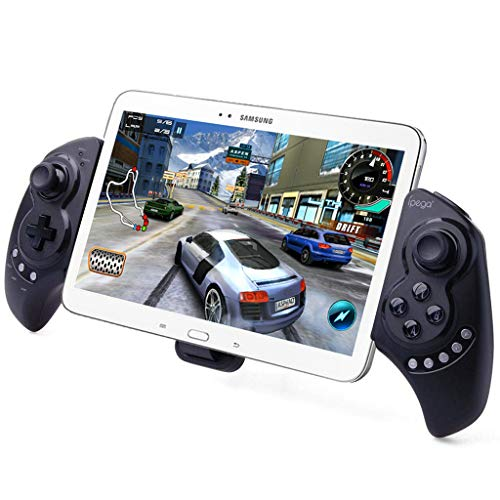 iPega PG-9023 Wireless Gamepad Game Controller, Teleskop-Joystick für 12,7-25,4 cm (5-10 Zoll) Tablets, kompatibel mit PC, Android, Samsung Galaxy Tab S3 S2 Note 9 Galaxy S9+ S8+, Lenovo Huawei