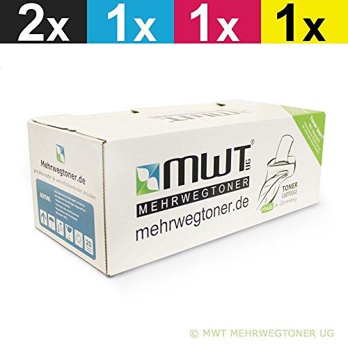 5X MWT Druckerpatronen für Ricoh SP C411dn C420 CL4000 CL4000dn C410dn CL4000hdn C420dn ersetzt TYPE145 TYPE245 Set -