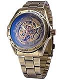 EASTPOLE Herren Automatik Mechanik Uhr Armband aus Edelstahl + EASTPOLE Geschenkbox PMW369