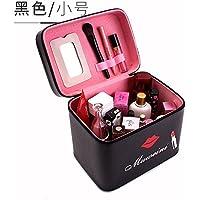 Wmshpeds Portable dame cas cosmétique capacité coréenne mignon grand Voyage sac cosmétique cosmétiques boîte de rangement