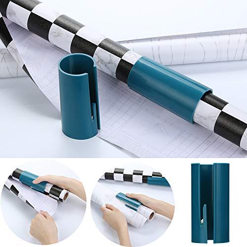 LQQSTORE ✿ Geschenkpapier Schneidemaschine Weihnachten Papierschneider Rotationsschiebemacher in Sekunden geschnitten Flexible Verpackung Papierschneidwerkzeuge Einfach und Zeit Sparen (Grün, 1pc)