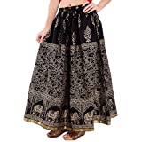 Ooltah Chashma Women's Cotton Skirt (SKR...