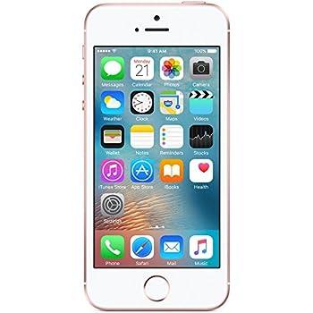 (Renewed) Apple iPhone SE (Rose Gold, 64GB)