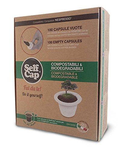 selfcap Nespresso biologisch abbaubar und kompostierbar Basteln